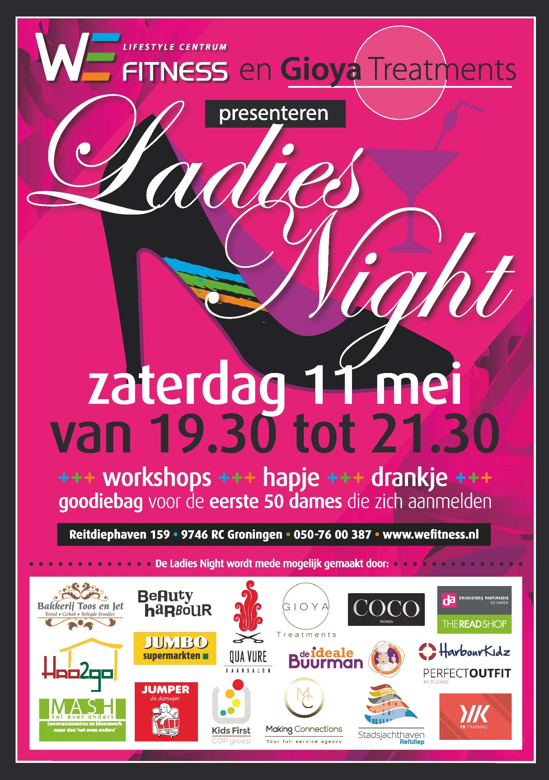 Ladies Night Wefitness
